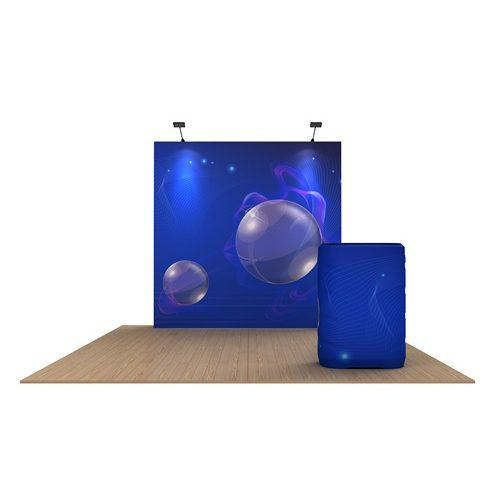 10x10 trade show display rental