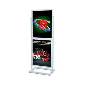 22x28 double poser sign stand casino