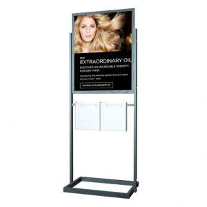 22 x 28 sign holder stand broture holder