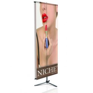 36x96 double-sided banner stand