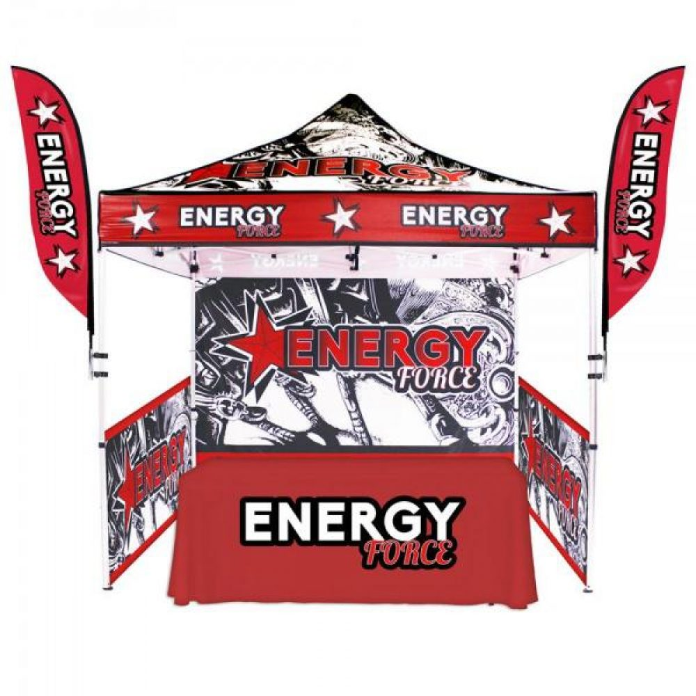 10FT Outdoor Tent ...  sc 1 st  Capital Exhibits & 10u0027 x10u0027 Economy Canopy tent With Full Graphic For Outdoor Events