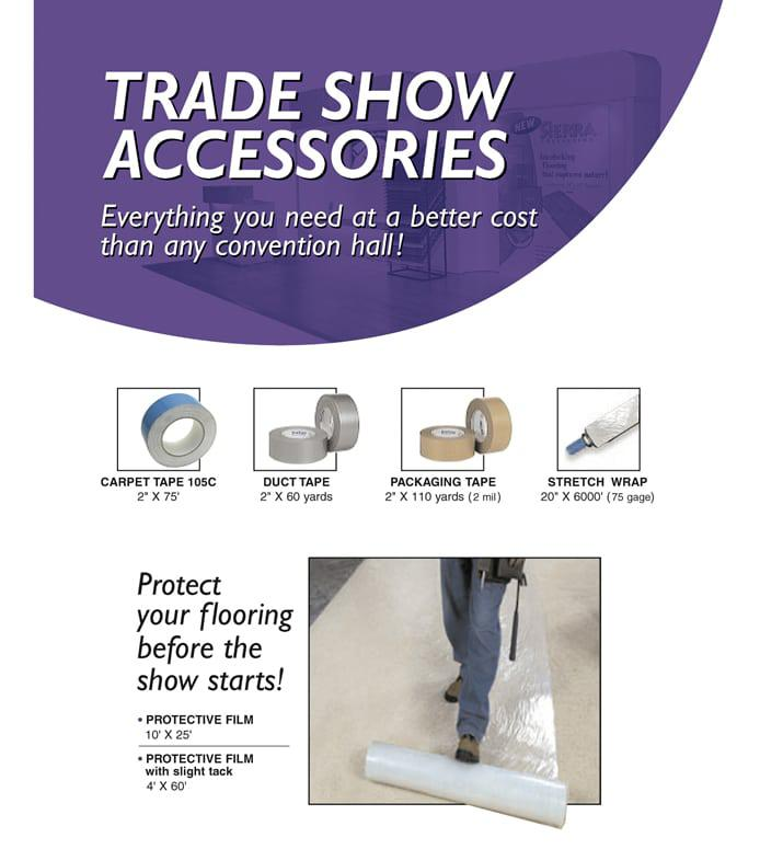 Trade Show Flooring 10x10 10x20 20x20 Interlocking