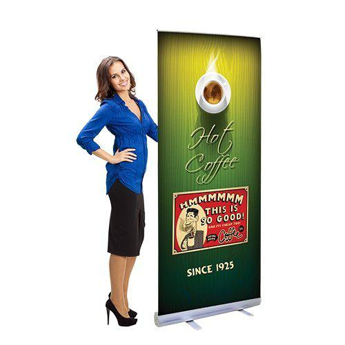 Banner Stands Display Banners Trade Show Banner Stand - Vinyl banners stands