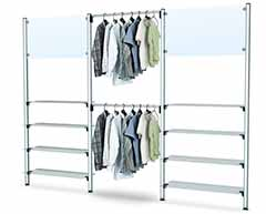 Clothing Stand Shelves Store