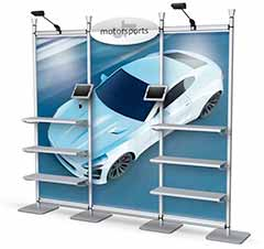 Tire Showroom Auto Display Stand