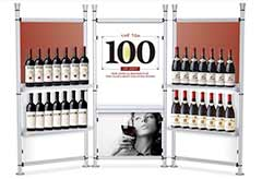 Wine Showroom Display Stand Rack