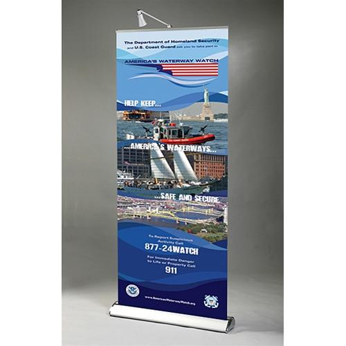 rental banner stand