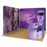 3x3 L-Shaped Trade Show Booth