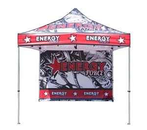 10′ x10′ Economy Canopy tent With Full Graphic For Outdoor Events