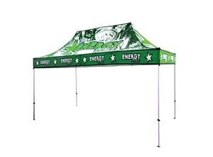 15′ w outdoor canopy tent for events and tradeshows