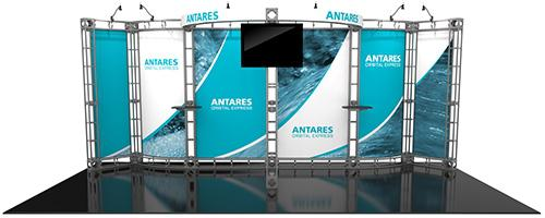 10ft x 20ft Antares Trade Show Display