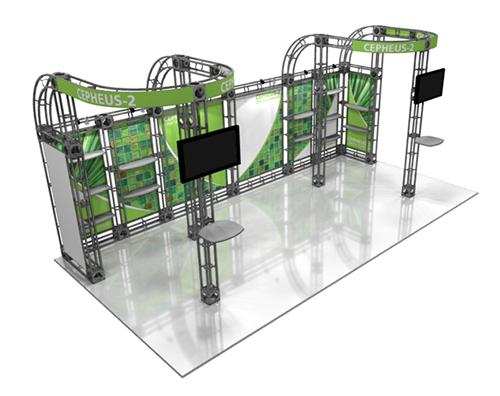 20 ft CEPHEUS-2 Truss Exhibition Display Booth System