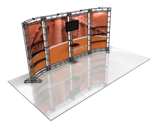 10 x 20 FT  HERCULES 15 Truss Exhibition Display System