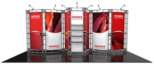20 x 10 Phoenix Orbital Express Truss Display