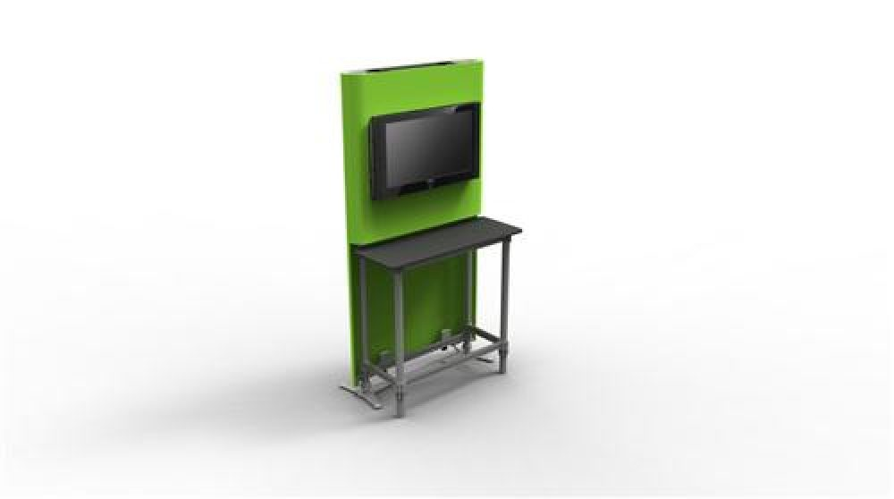 RENTAL MULTIMEDIA DISPLAY TRADE SHOW BOOTHS