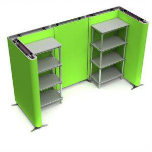 10FT SHELVING SYSTEM TRADE SHOW DISPLAY