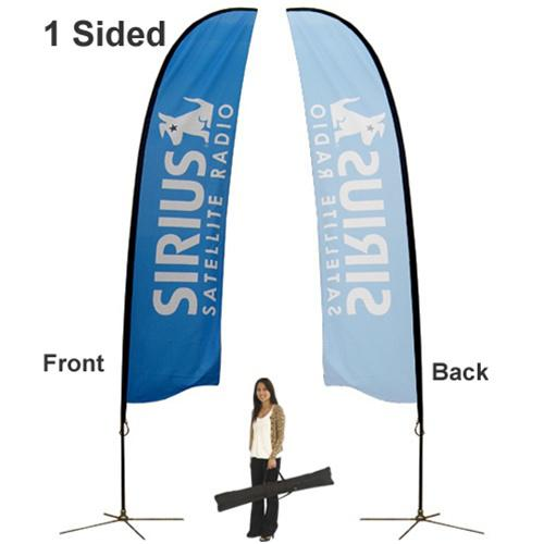 Outdoor Banner Stands Feather Large