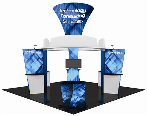 20 x 20 FT Formulate Trade Show Booth
