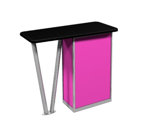 LINEAR BOLD COUNTER FOR TRADE SHOWS AND EXHIBIT BOOTHS