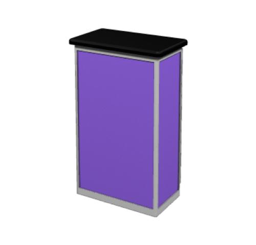 Small Trade Show Counters and Cabinets | Exhibition podium