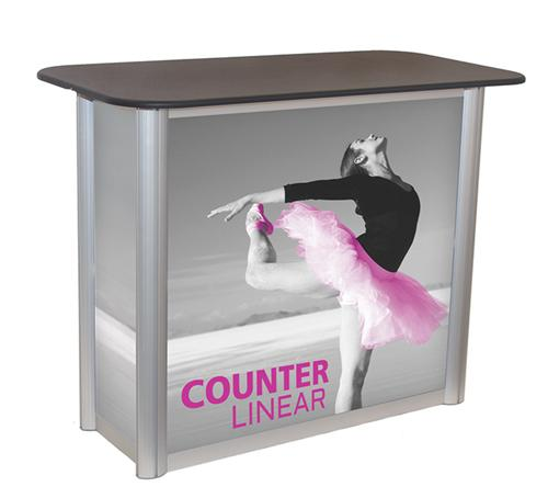 TRADE SHOW COUNTER DISPLAYS FOR EXHIBITS