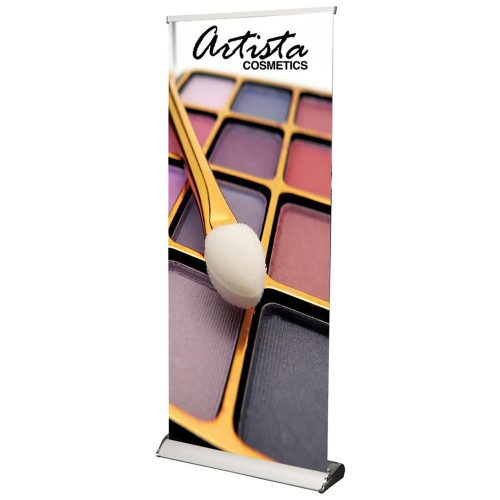 33.5 in Fair Retractable Banner Stand for Exhibition Shows