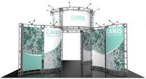 11. RENTAL-20X20 CANIS TRADE SHOW BOOTHS