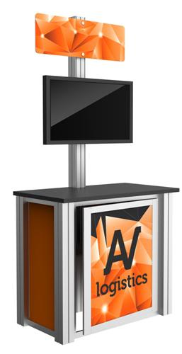 Trade Show Booth Kiosks : Rental modular kiosk a trade show booths capital exhibits