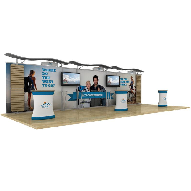 Exhibition Booth Hire : Rental trade show display exhibition booth
