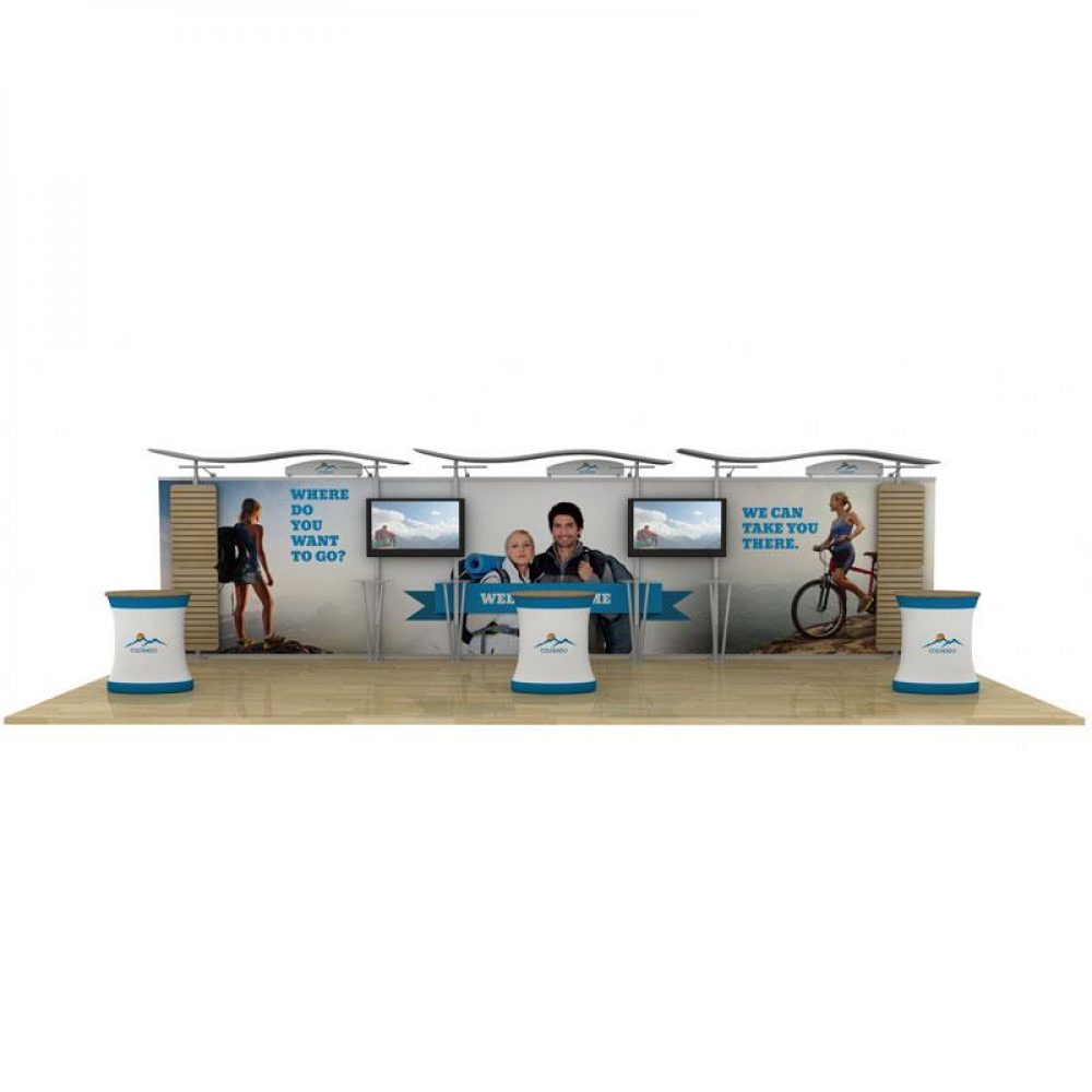 Rental 10x30 Trade Show Display Exhibition
