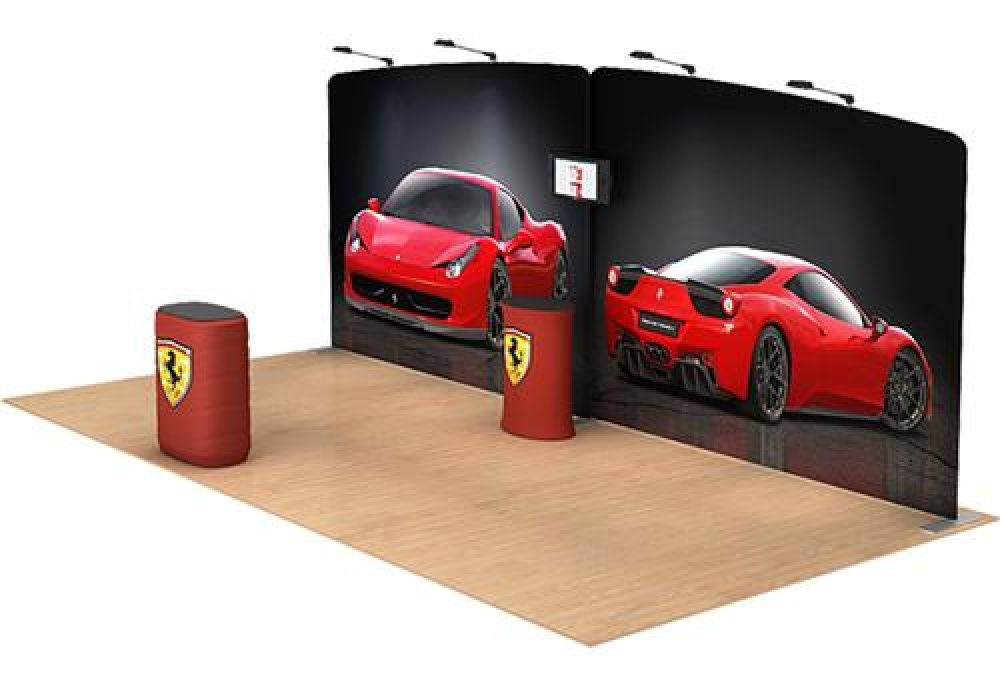 20x20 tradeshow display booth