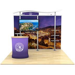 hybrid trade show displays