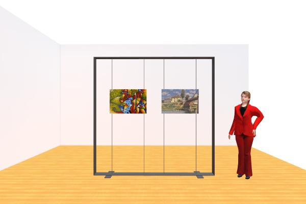 Rental 8ft x 8ft Picture Frame Display Stand