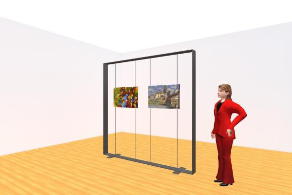 Rental 8'x8' Photo Frame Display Holder