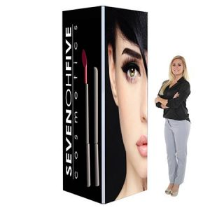 3ft x 8ft Trade Show Tower With Graphic renta Vegas