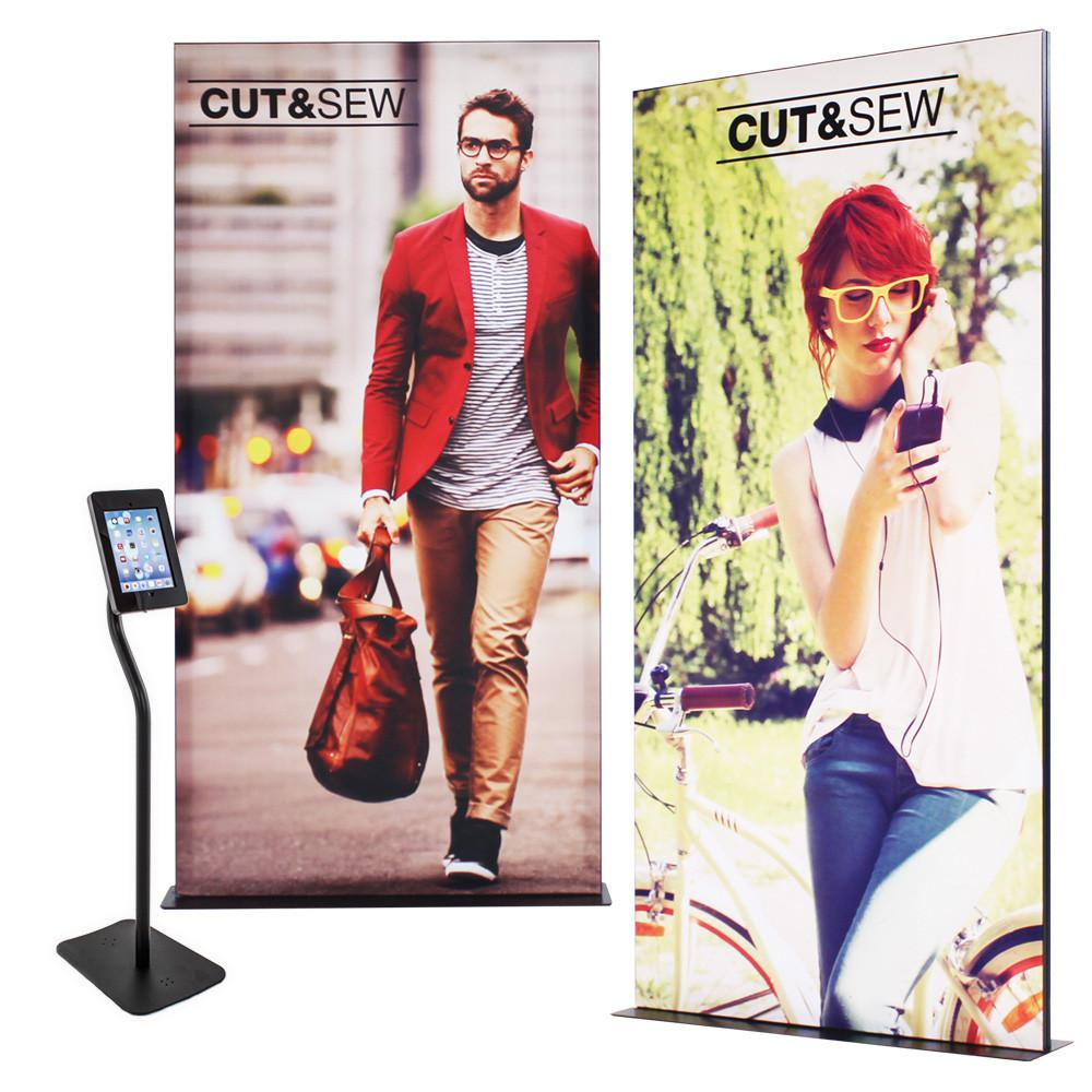 Exhibition Stand Poster : Poster pop up display graphics trade show conference