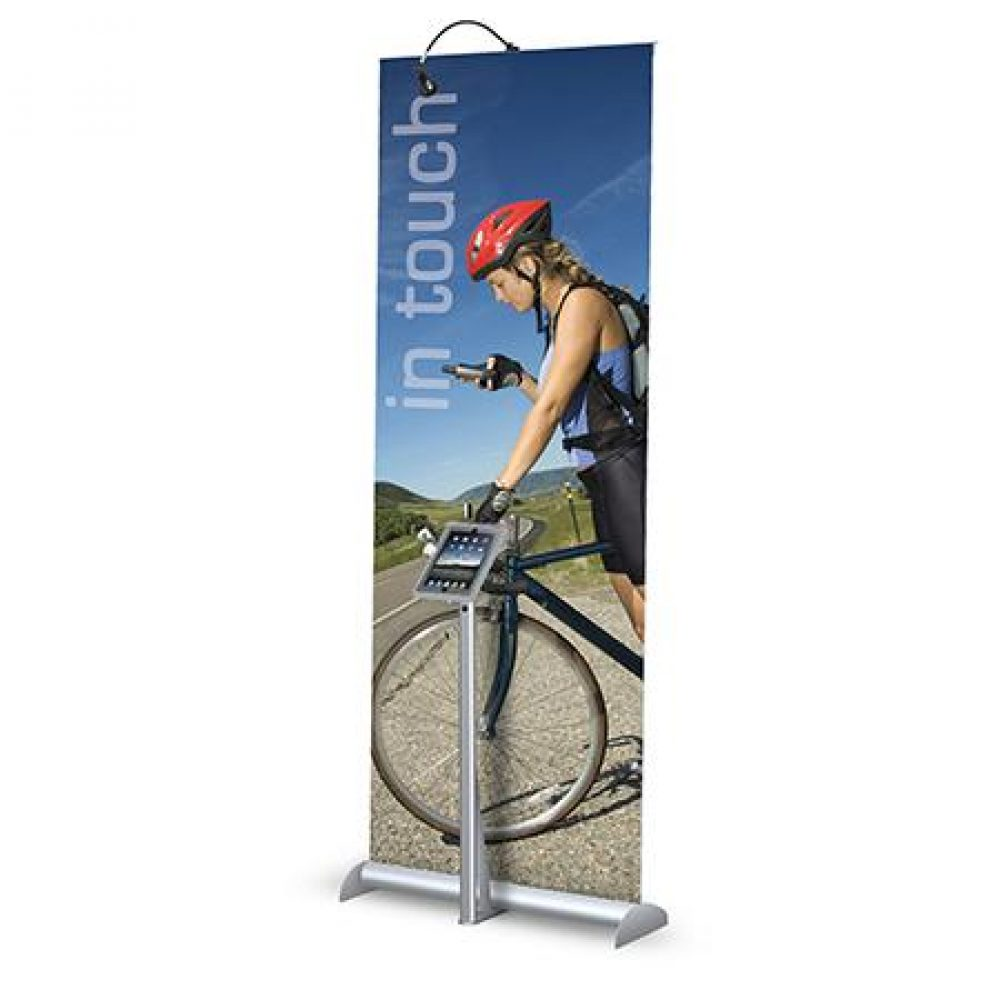 Roll Up Banner Graphics wih iPad Stand NYC