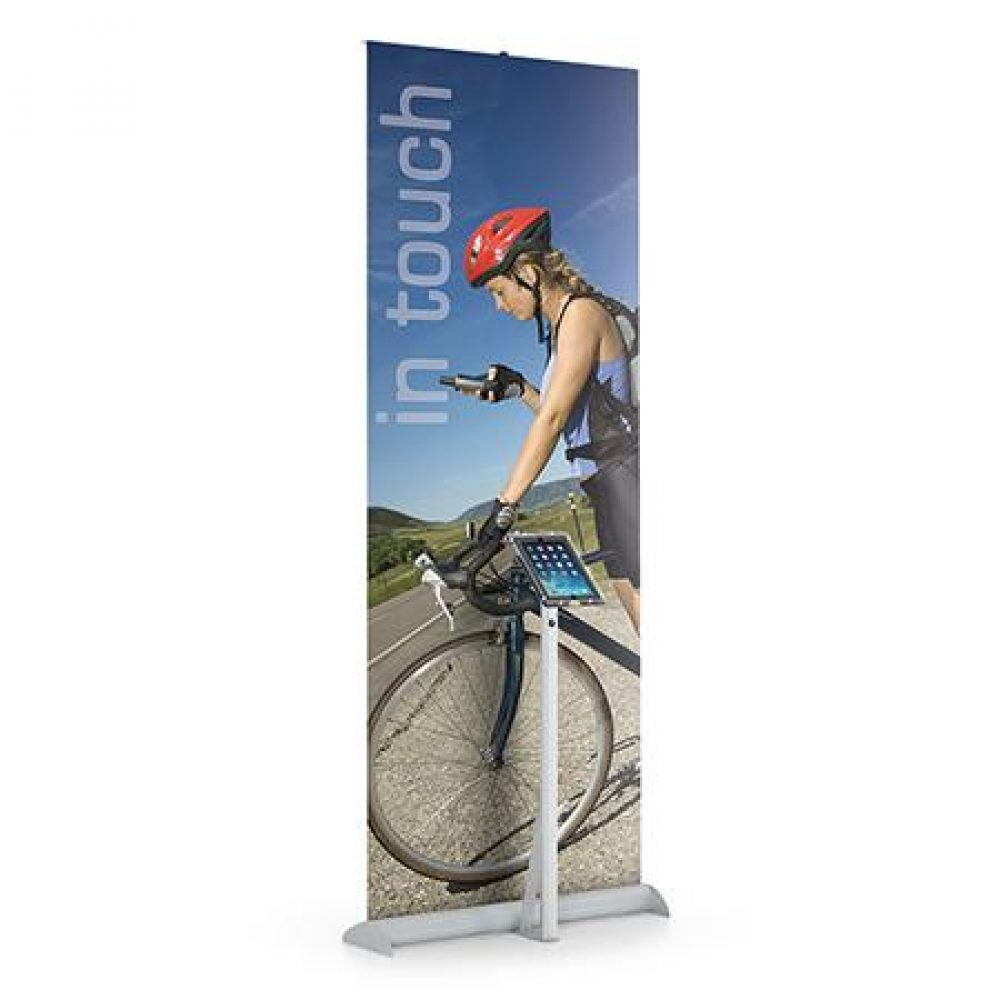 Pull Up Banners With iPad Stands Dallas