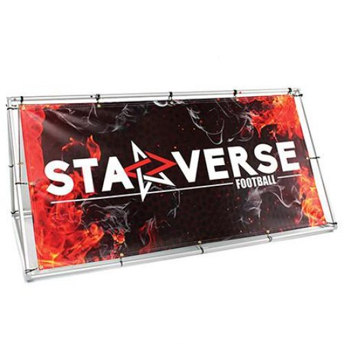 Wide And Long Double-Sided Banner Stands