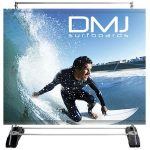 Large Outdoor Wall Double Sided Graphic Banner Stand
