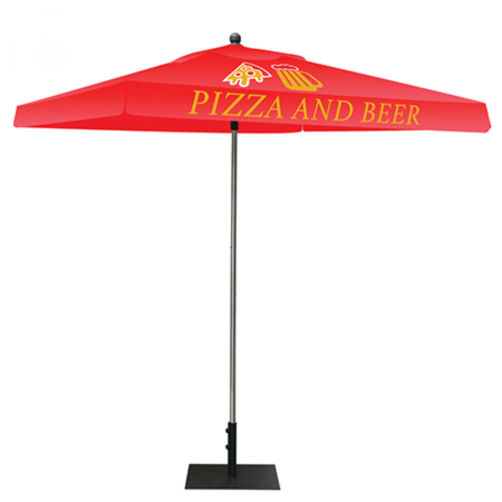 Red Squre Outdoor Tent With Color Logo