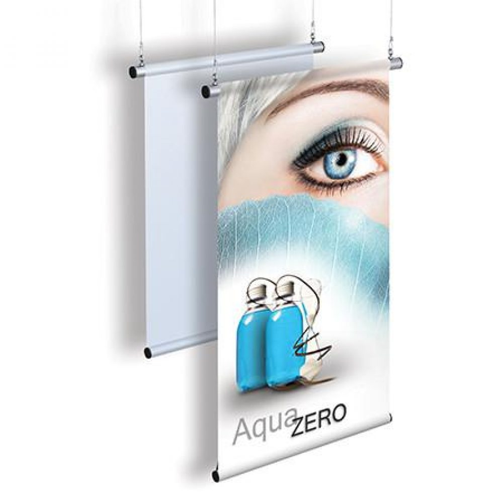 Retail Shop Ceiling Poster Holder