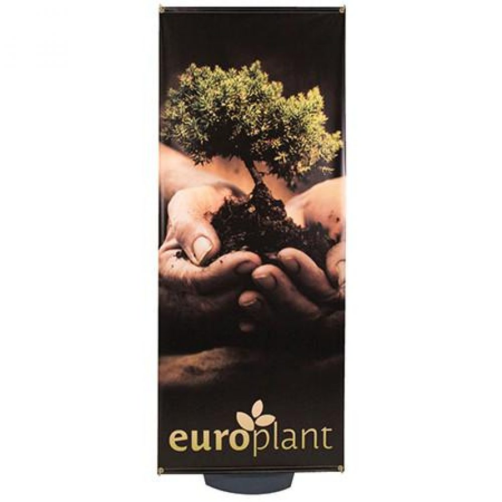 Outdoor Banner Stand With Water Base Boston