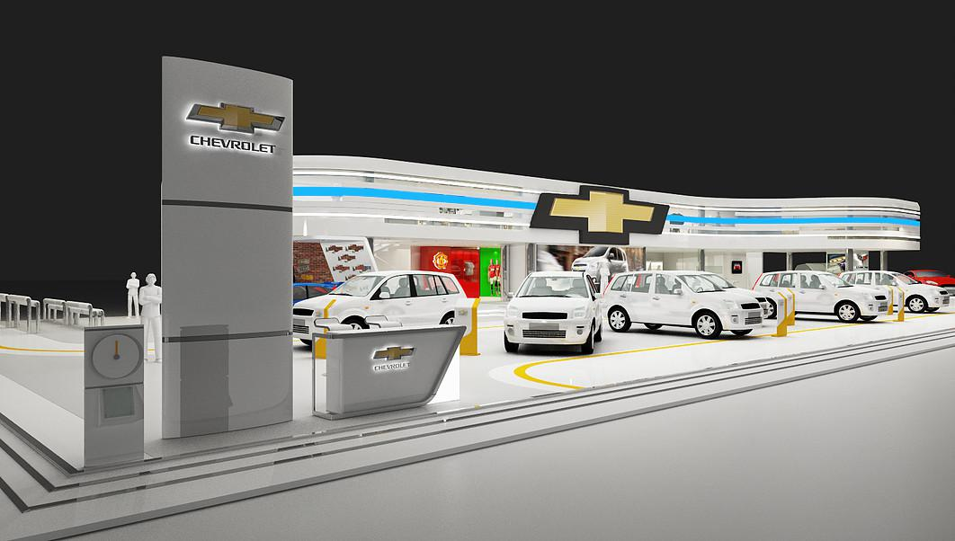 Auto Car Dealer Showroom 3d designers Birmingham, AL