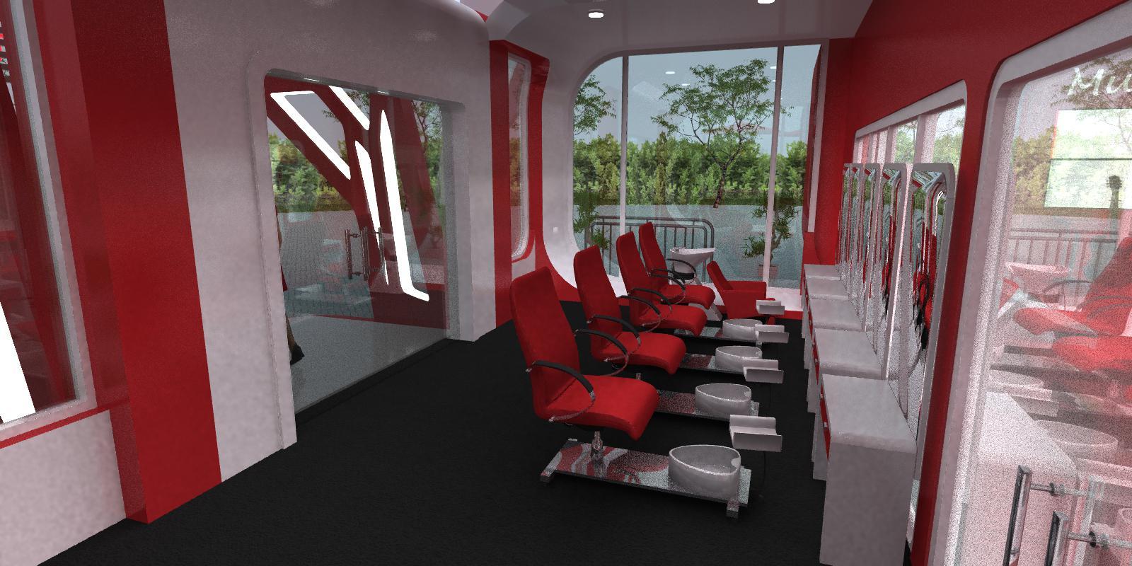 Museum 3d rendering modeling designers Washington DC