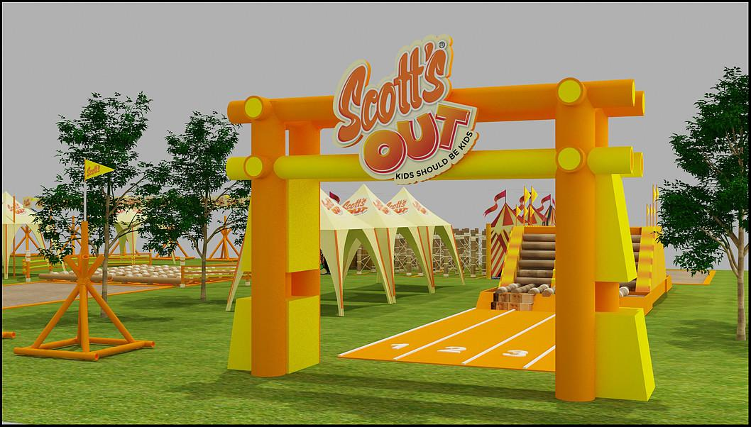 3d model Artist Designer Outdoor Activity Park