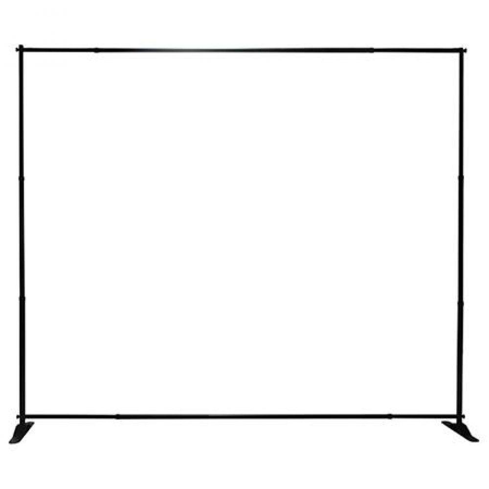 Black Adjustable Banner Stand