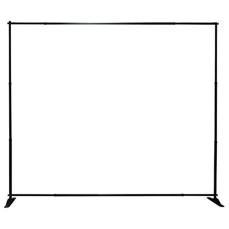 8x8 and 8x10 horizontal banner stands trade show or exhibition. Black Bedroom Furniture Sets. Home Design Ideas