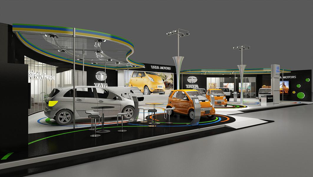 The Best 3d Artist Auto Dealer Showrrom Designers LA CA