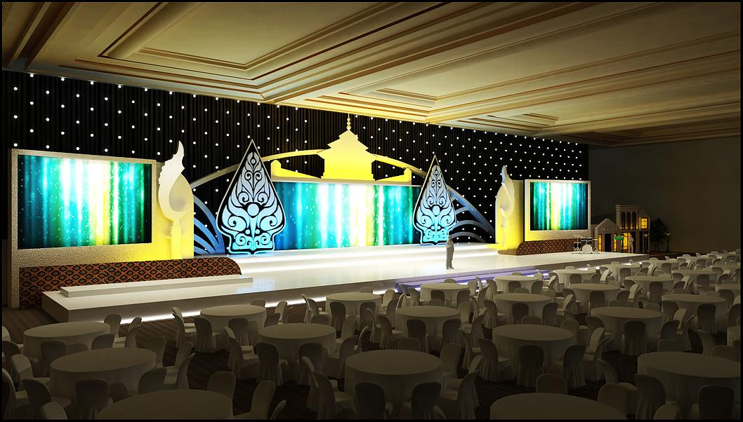 Party Room Stage 3d designer va